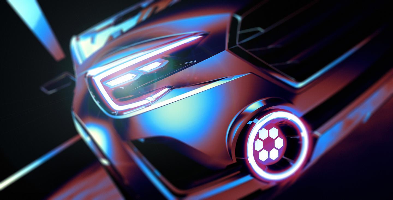 A glimpse at the Subaru Viziv 2 Concept