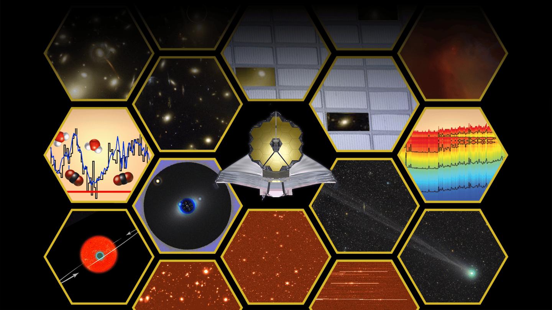 Artist's illustration representingthe scientific capabilities of NASA's James Webb Space Telescope