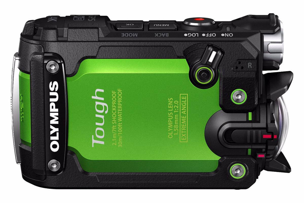 The sensor-packed Stylus Tough TG-Tracker actioncam from Olympus