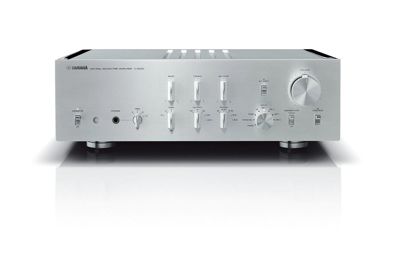 The C-5000 pre-amplifier from Yamaha