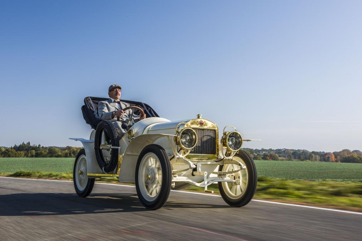 This restored1908 Laurin & Klement BSC is a110-year-old piece of sports car history