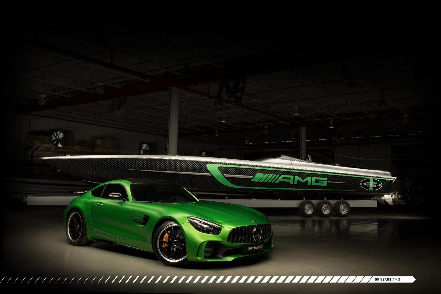 The Marauder AMG is inspired by the AMG GT R