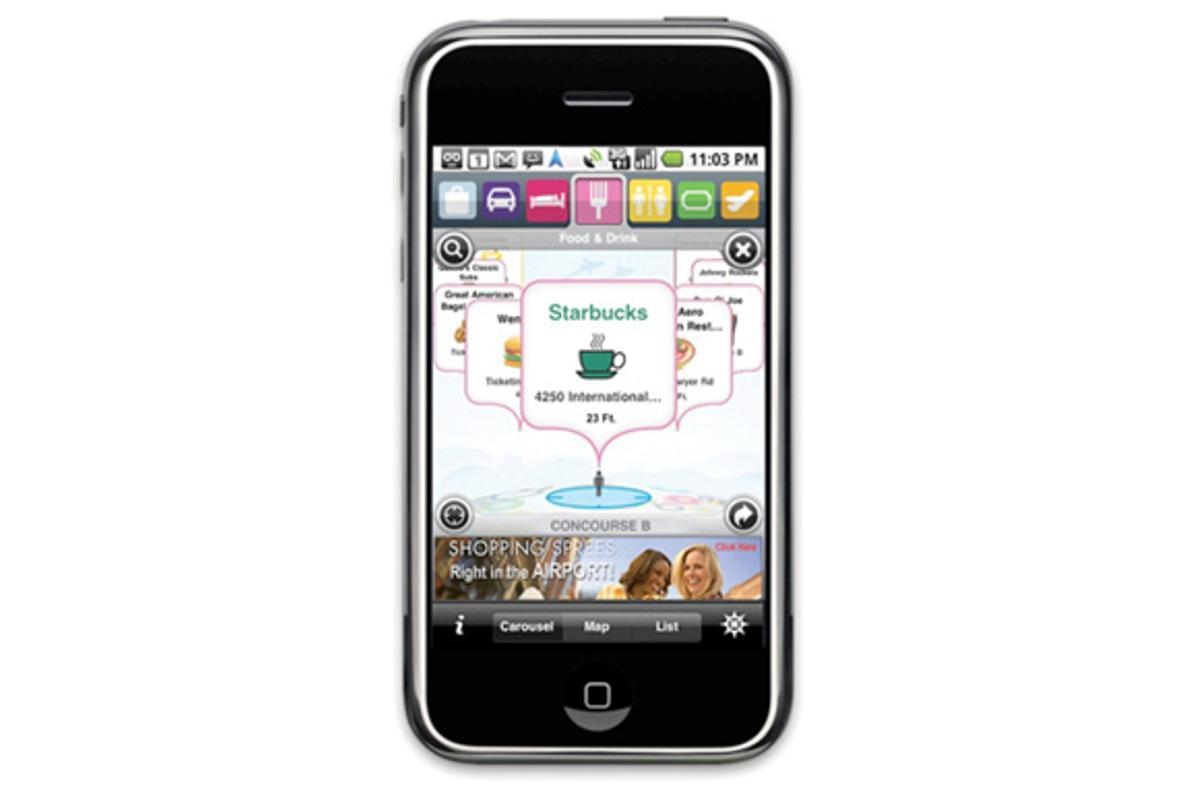 FLYsmart App for airport travelers