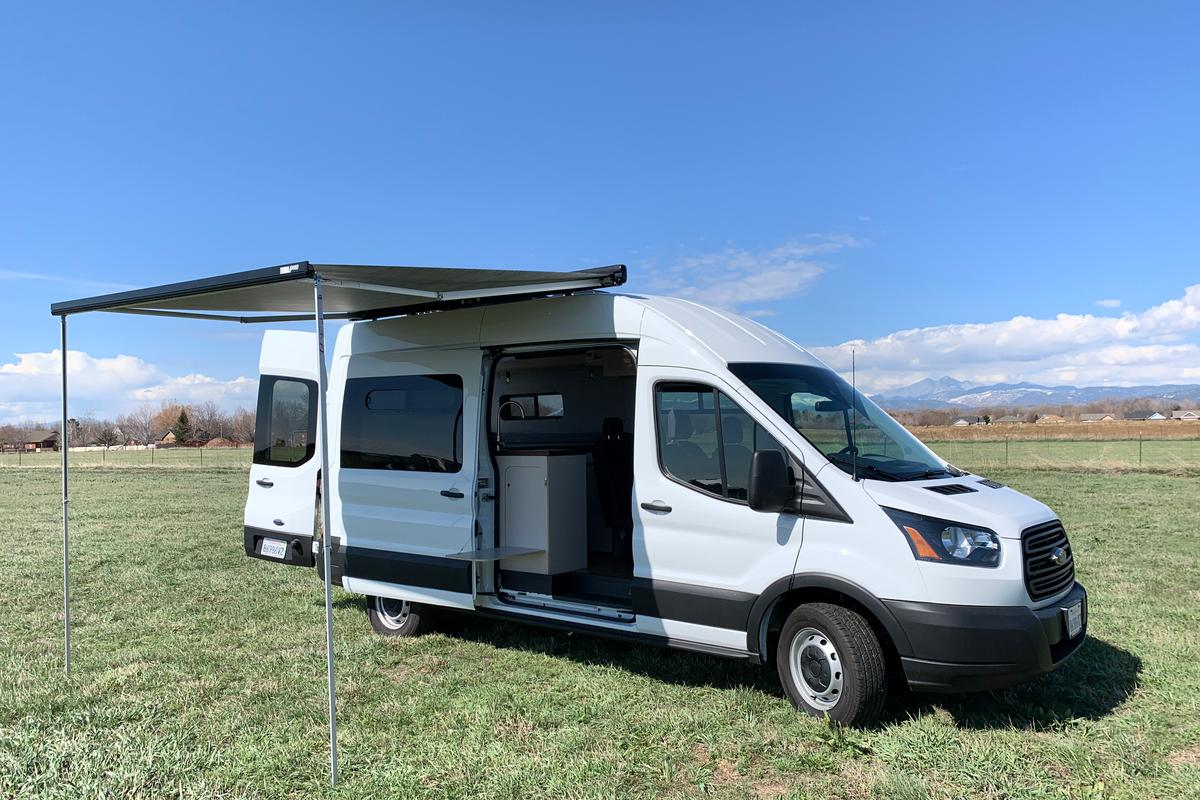 AVC Rig builds the Base Camp on the Ford Transit 148