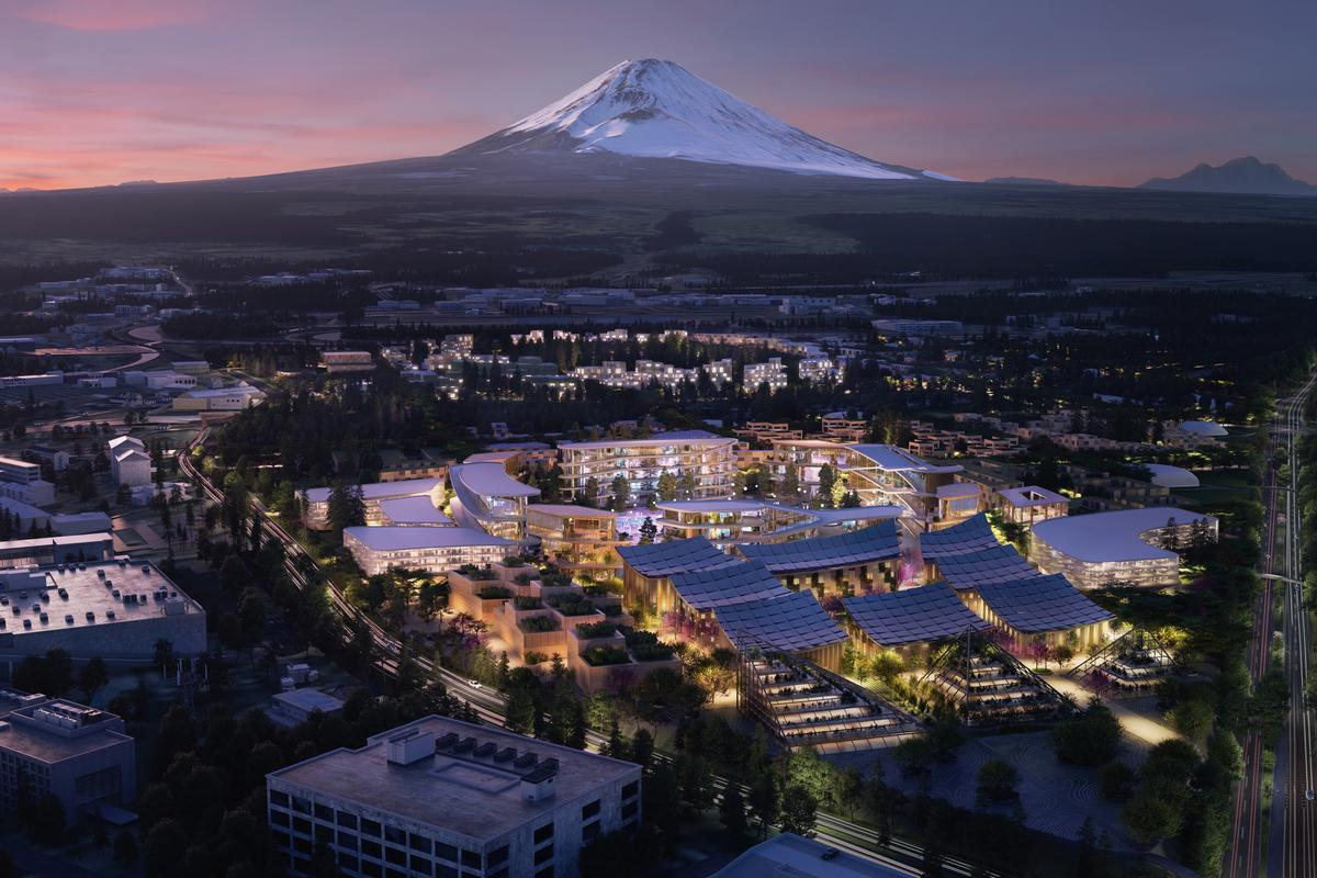 Toyota is preparing a 175-acre site below Mt. Fuji for an ambitious ground-up smart city technology test bed called the Woven City