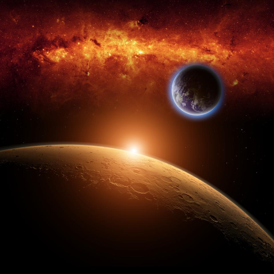 Did life as we know it originate on Mars? (Image: Shutterstock)