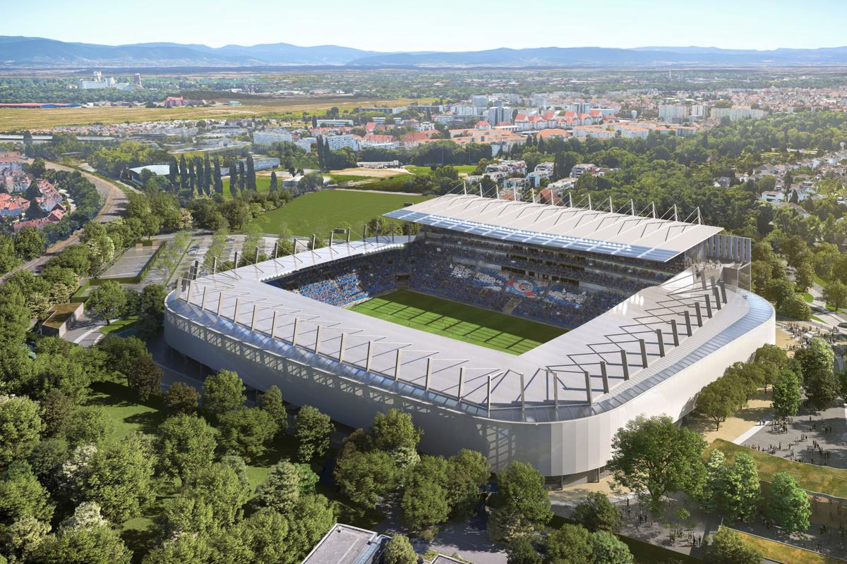 The Stade de la Meinau Renovation is expected to be completed by 2025