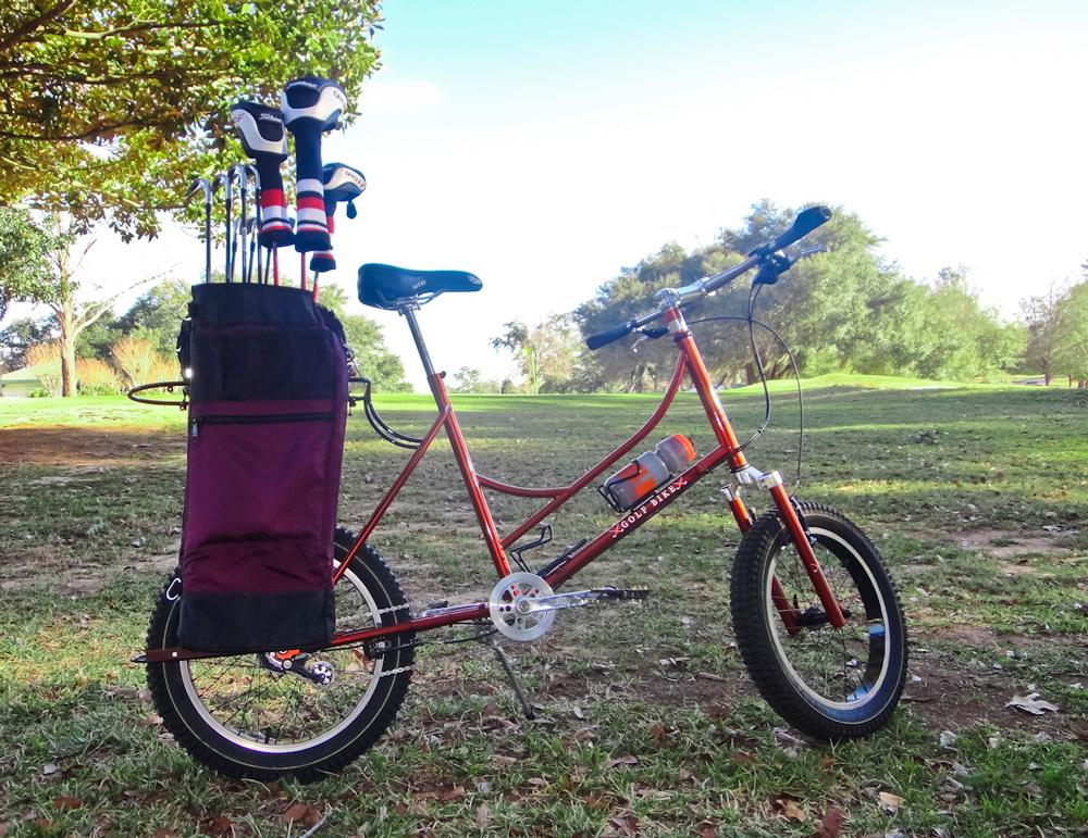 """The base Golf Bike will be priced at $1,200, with a """"Made in USA"""" version going for $1,800"""