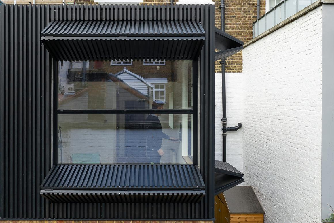 Black Box is located on a cramped London plot