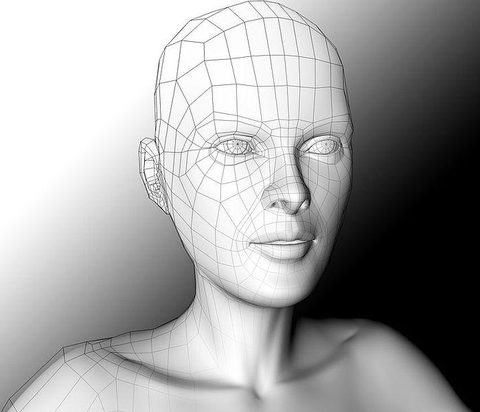 Researchers have created a computer algorithm that creates 3D models based on 2D images of faces (Image: CC)
