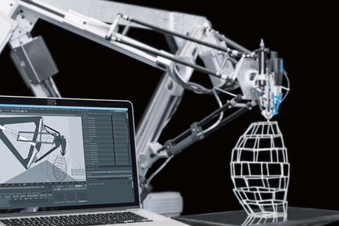 The 3D Cocooner from Festo will be demonstrated at the Hannover Messe trade show later this month
