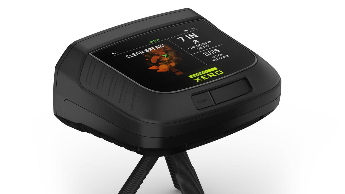Garmin has added to its extensive range sports training aids with a new gadget to get trapshooters aiming right