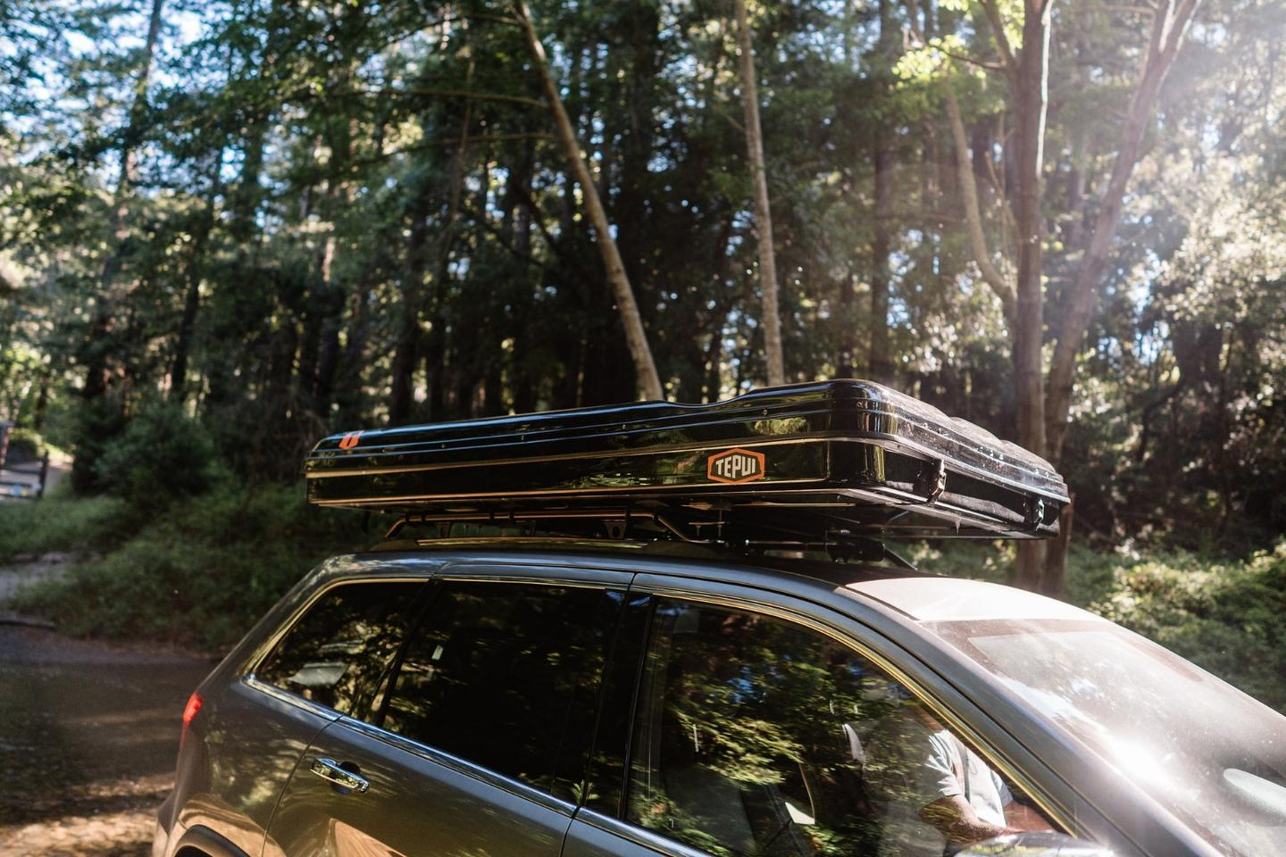 The all-new HyBox is part roof-top tent, part cargo box