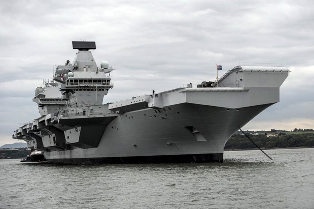 HMS Queen Elizabeth is the largest ship ever built for the Royal Navy