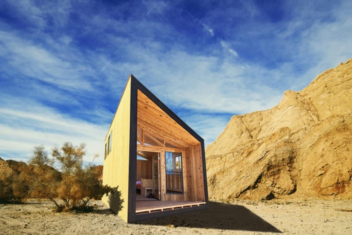 Students at Cal Poly Pamona have reimagined the state park cabin