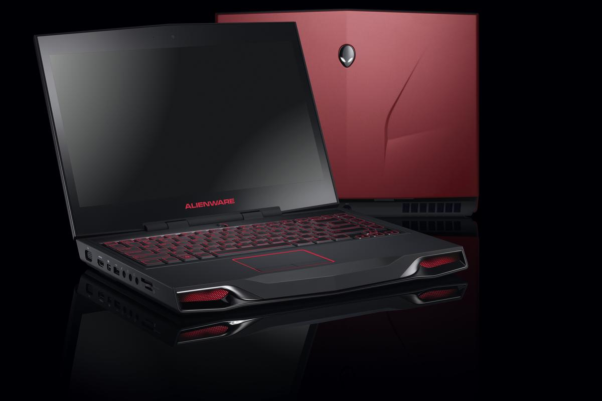 Alienware's new M14x gaming notebook (Images courtesy of Dell, Inc)