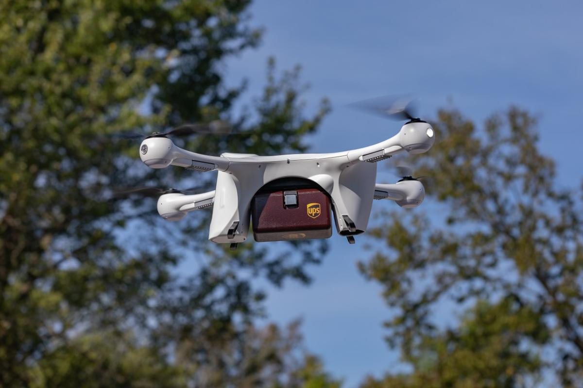 UPS is teaming up with pharmacy chain CVS to deliver customer goods with drones