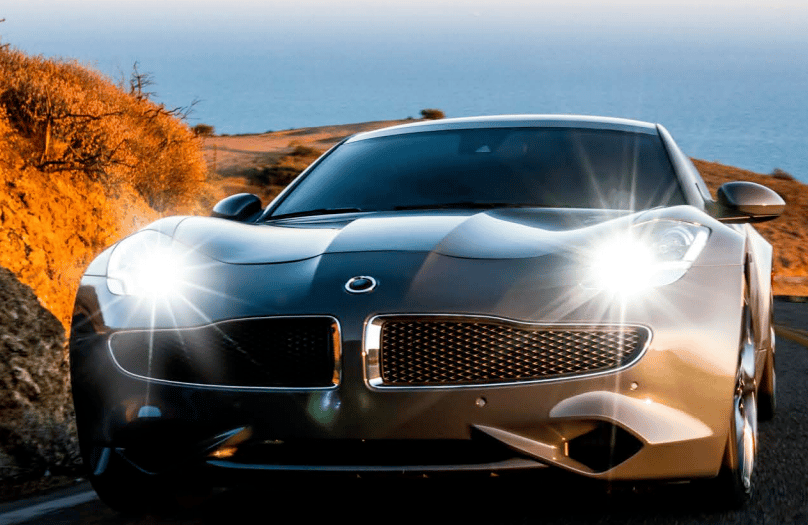 The Karma's exterior design is almost identical to the Fisker Karma