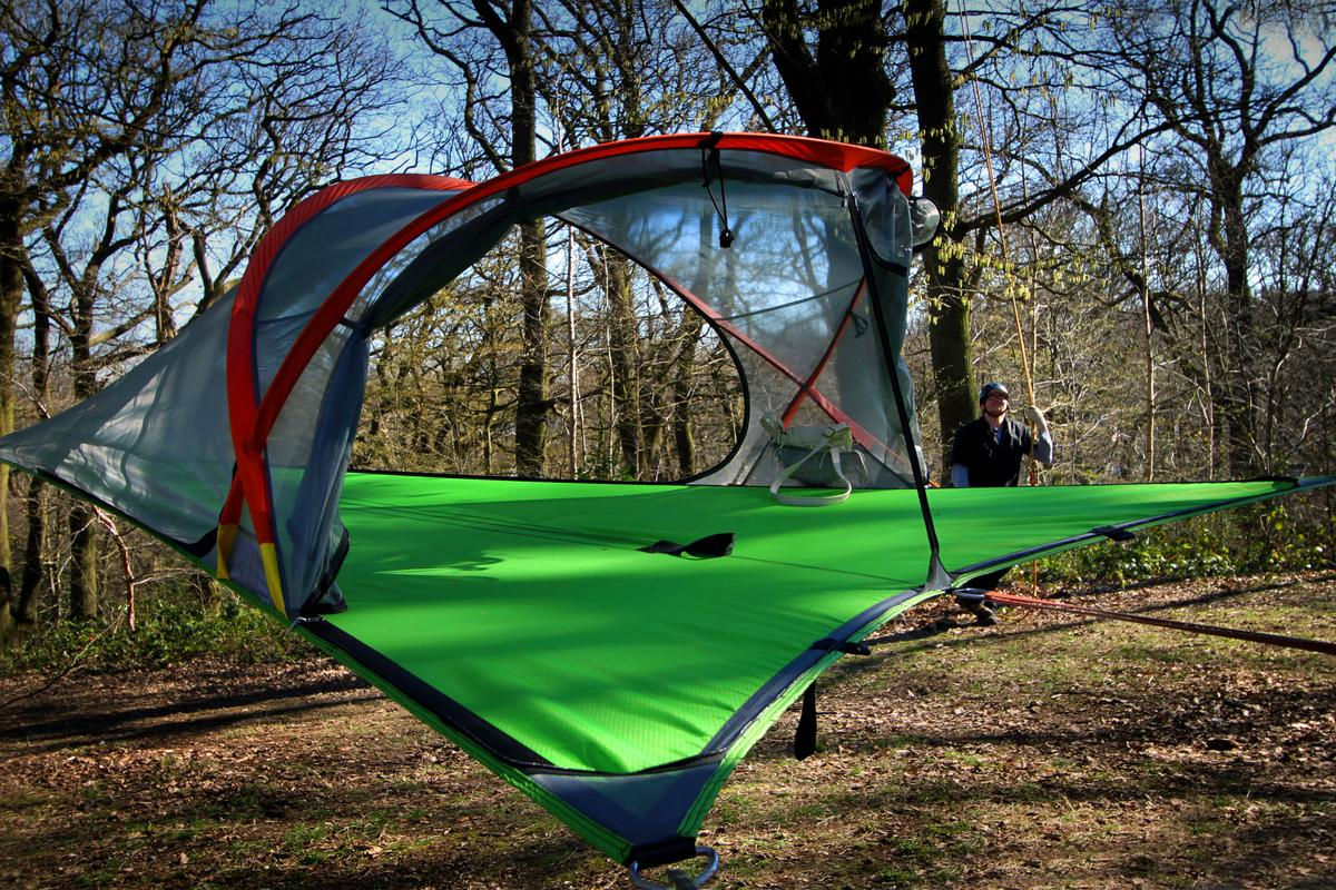 The Connect is the latest tent by Tentsile (Photo: Tentsile)