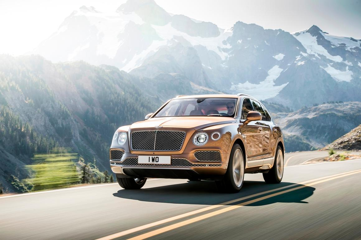 The Bentayga combines luxury and performance