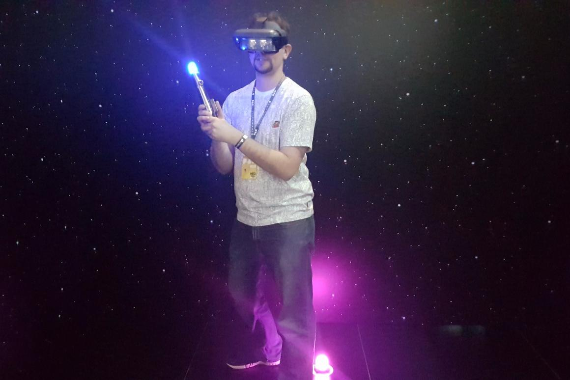 New Atlas went hands-on withLenovo's AR experience,Star Wars: Jedi Challenges, at PAXAustralia