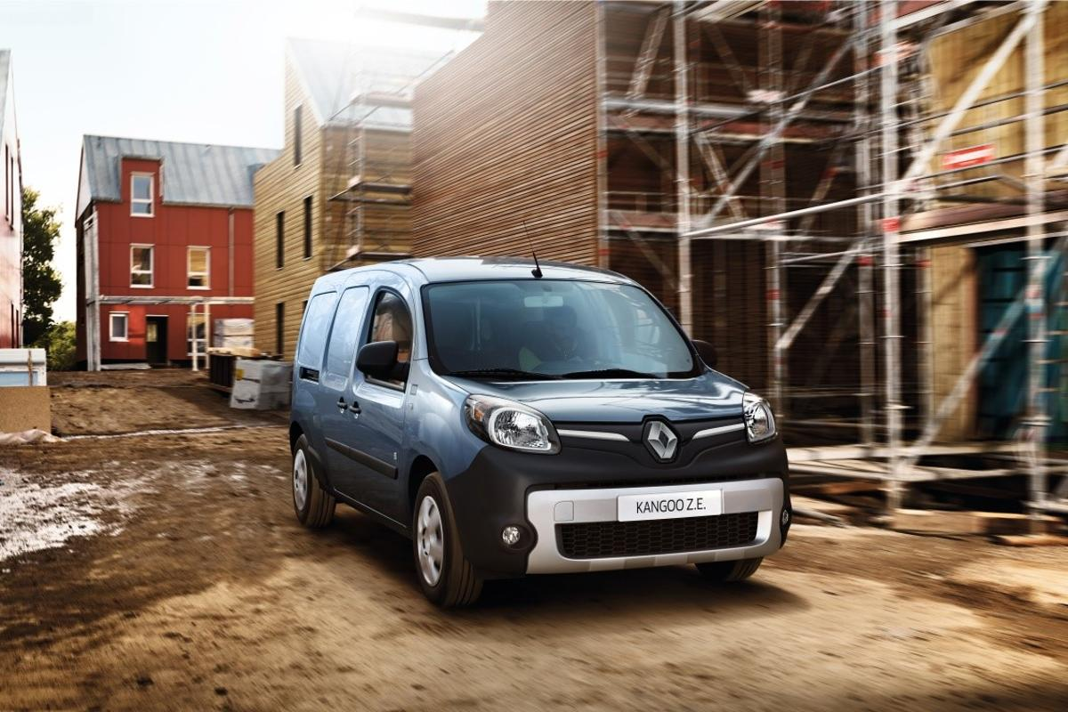 The Renault Kangoo ZE has been treated to a big range boost