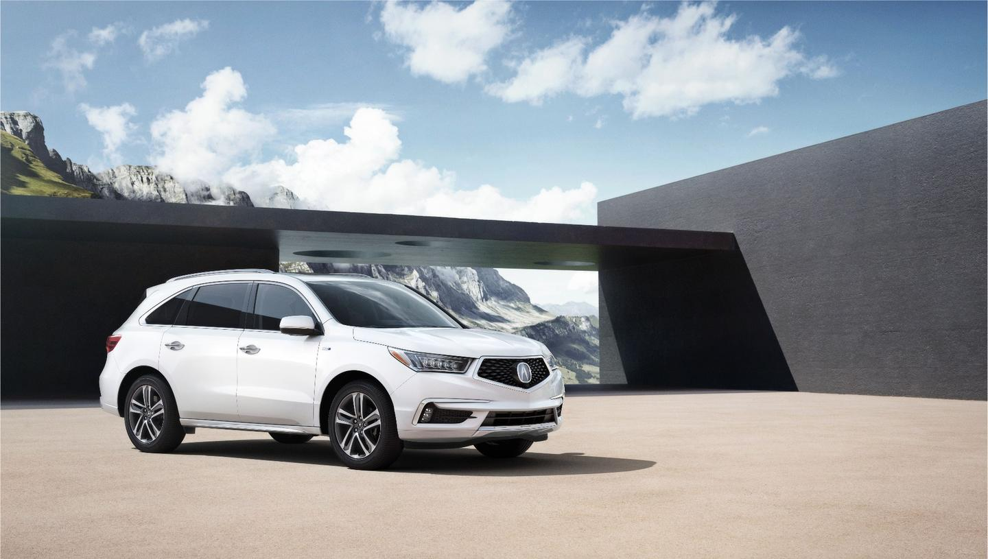 The Acura MDX debuts a new face for the brand