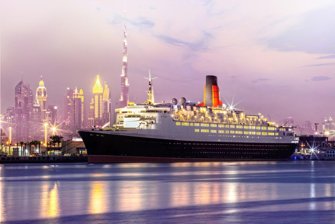 The QE2 Hotel is based in Dubai
