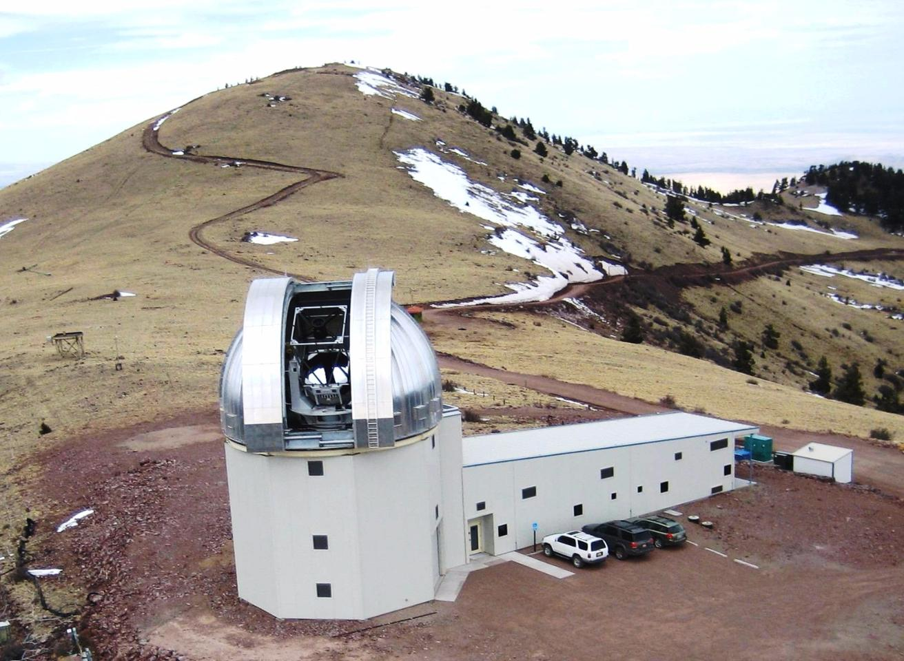 The 2.4-meter telescope facility at Magdalena Ridge Observatory provided astrometric and photometric observations for two months during the 2012 TC4 campaign