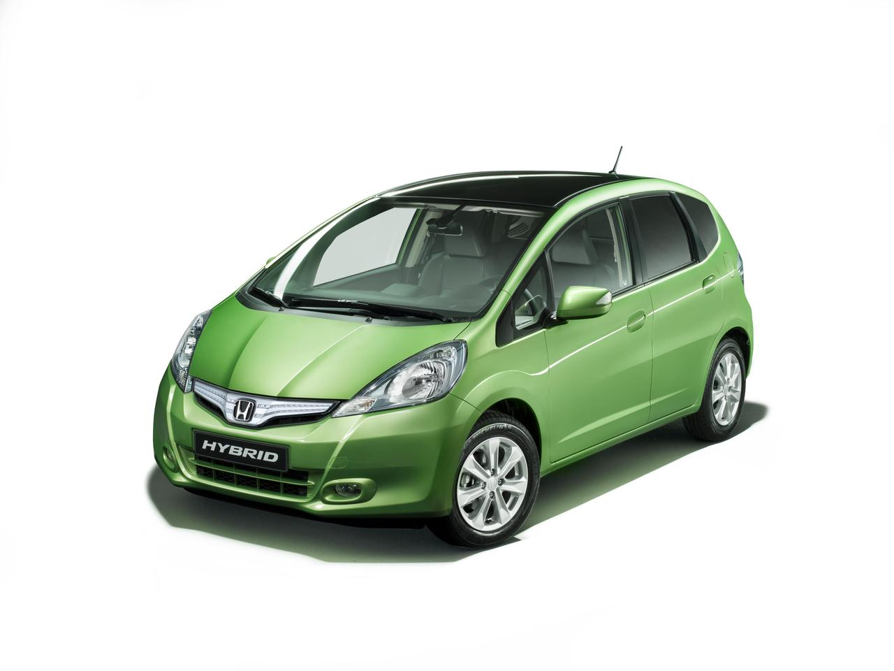 Honda Jazz hybrid: world's first B-class hybrid car