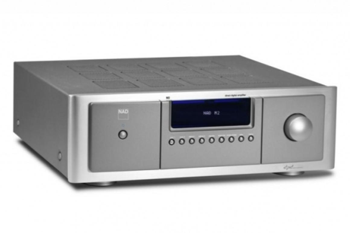 The clean, simple, functional look of the NAD Masters Series M2 Direct Digital Amplifier belies it's ability.