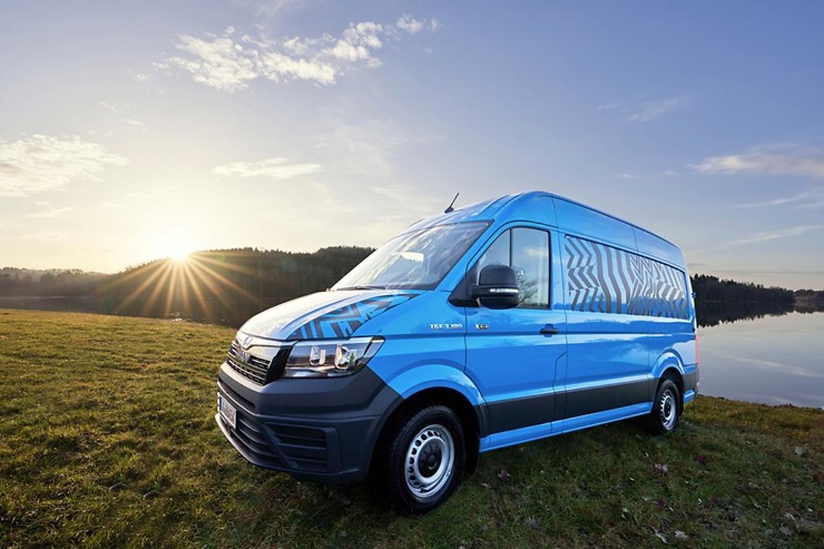 MANTGE 4x4 dual-use concept camper van