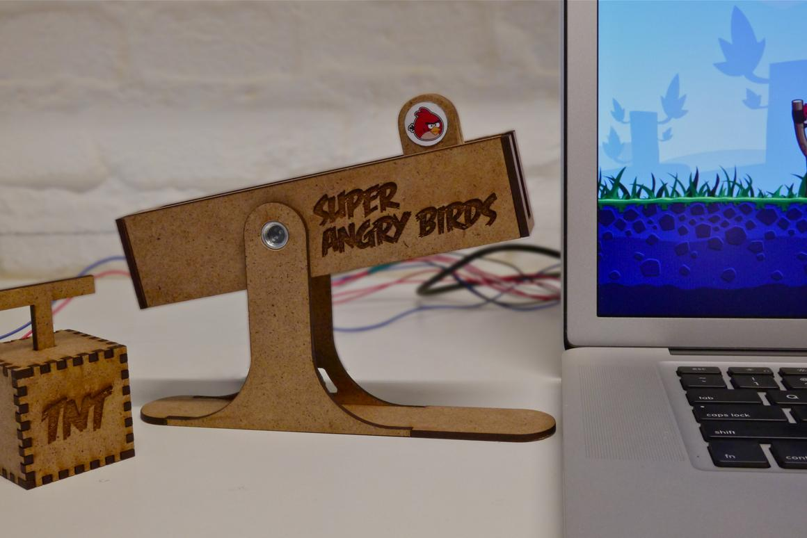 Angry Birds 2 Hack 2018 slingshot controller made just for angry birds