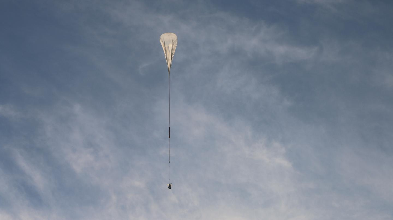 SuperBIT on a 2016 test flight over Texas