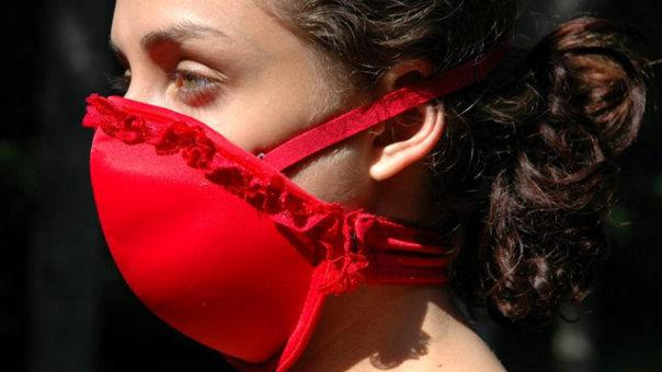 The Emergency Bra as a facemask