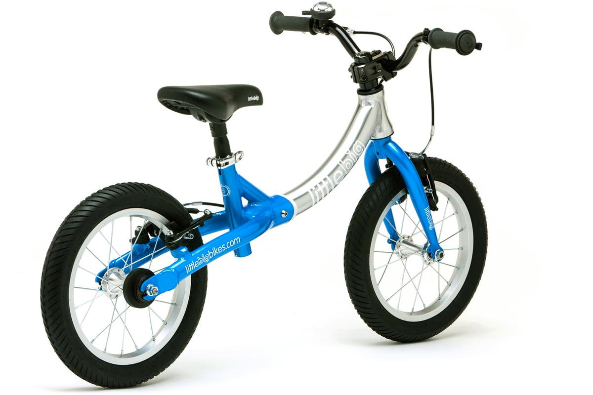The LittleBig Bike, in its larger-frame-but-still-no-pedals configuration