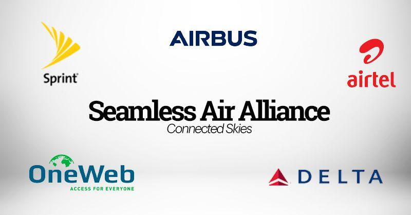 The five founding members of the Seamless Air Alliance