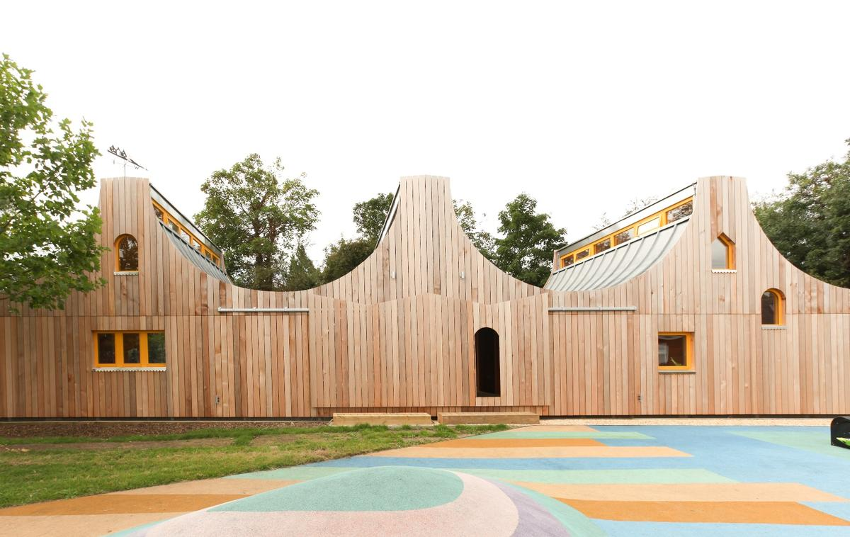 London'sBelvue School is one of the sevenprojects that feature in this year's RIBA Stephen Lawrence Prize shortlist