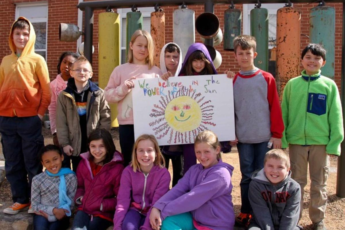 North Carolina 4th-grade students have raised enough funds on Kickstarter to allow their classroom to go off-grid