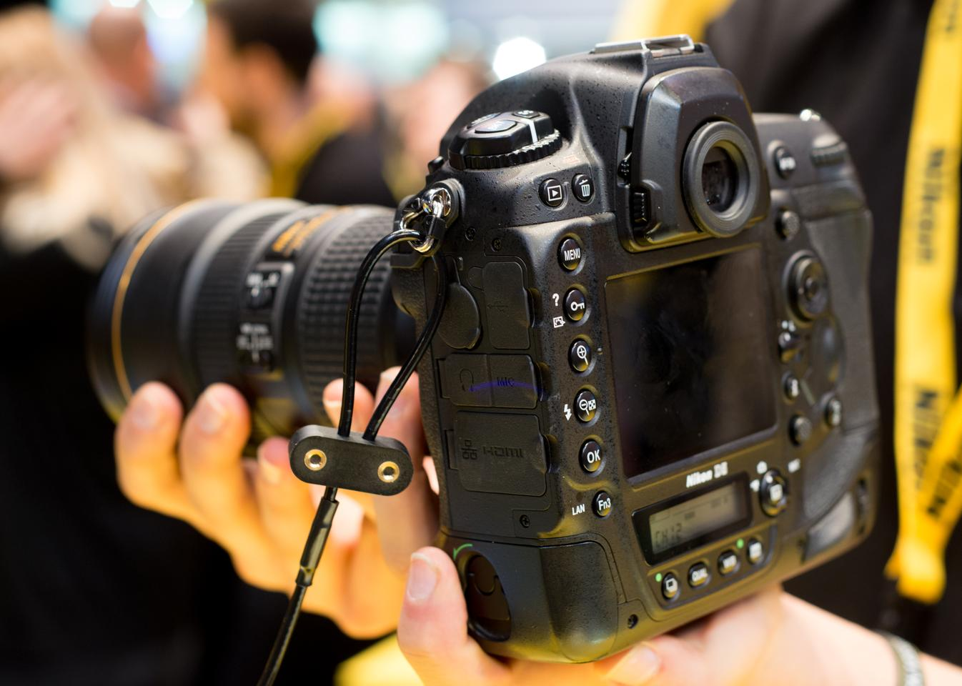 The Nikon D5 sounds like a machine gun when firing off shots at 12 fps