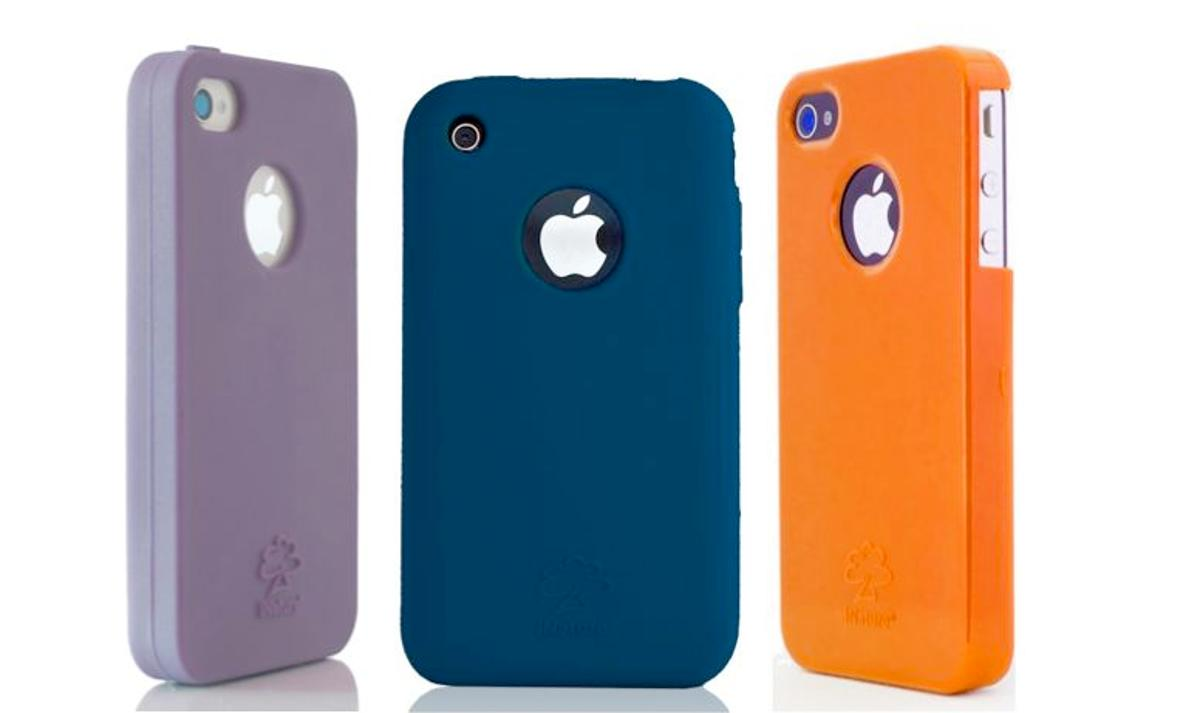 The iNature iPhone cover is 100-percent biodegradable