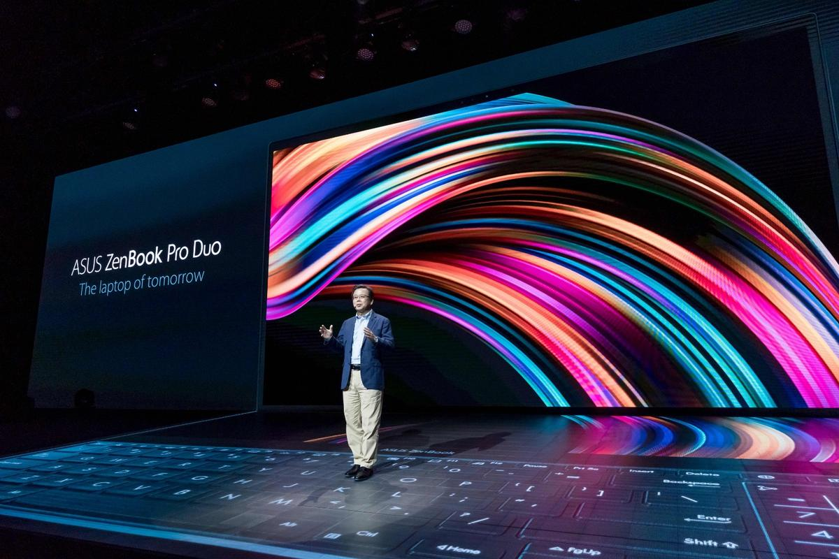 Asus launched the ZenBook Pro Duo at Computex 2019 in Taipei, Taiwan
