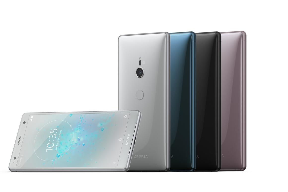The Xperia XZ2 is Sony's premium flagship phone for 2018