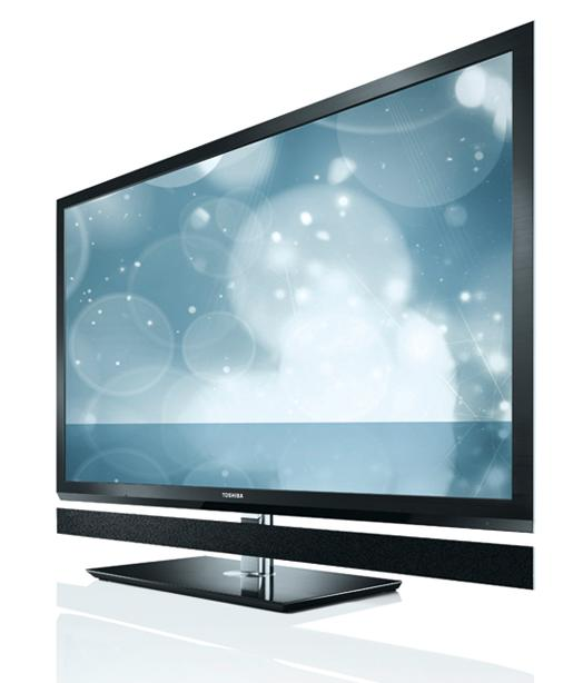 Toshiba's new flagship 55ZL1 HDTV powered by a new CEVO-ENGINE