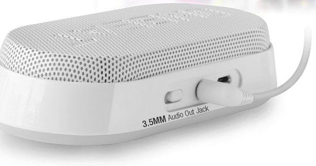 An included 3.5-mm audio jack makes the ONBEAT-X1 compatible with devices that don't have Bluetooth