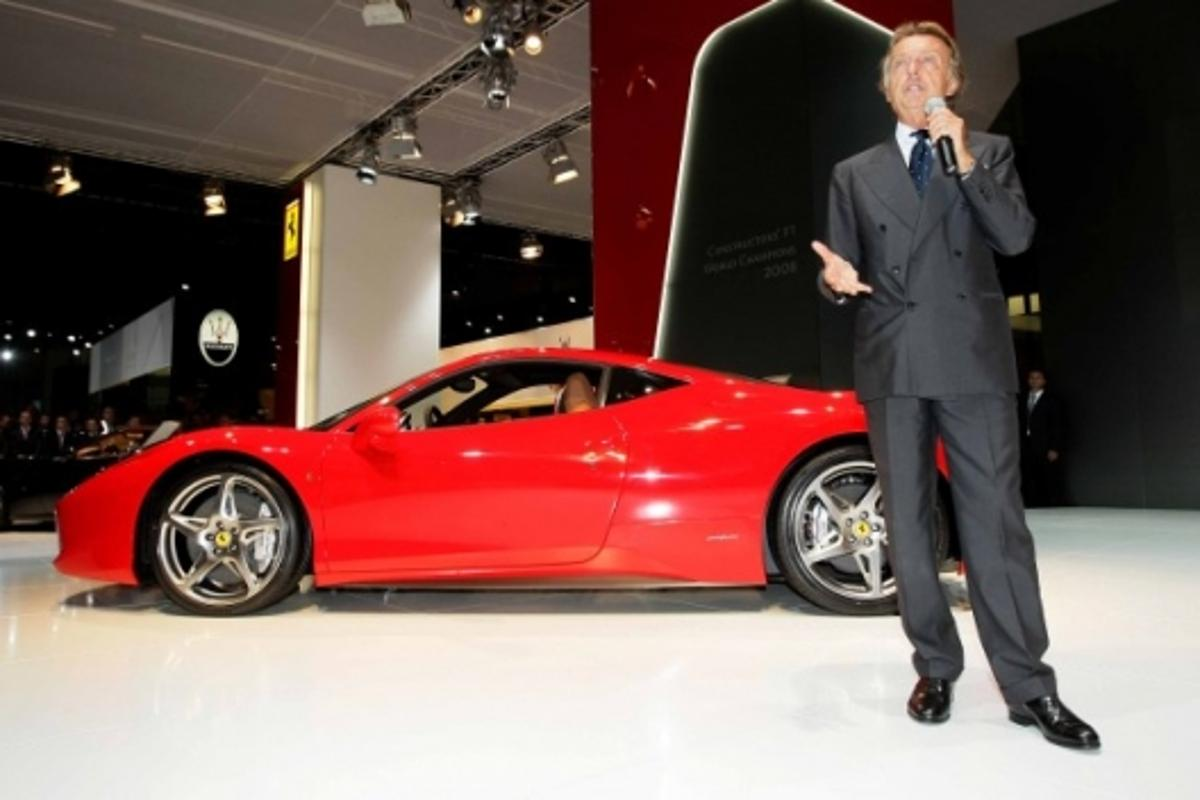 The Ferrari 458 Italia finally makes its debut at the 63rd IAA Frankfurt Motor Show
