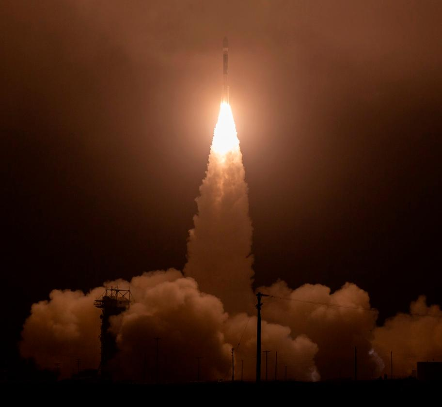 The United Launch Alliance (ULA) Delta II rocket lifting off with the NASA Ice, Cloud and land Elevation Satellite-2 (ICESat-2) onboard