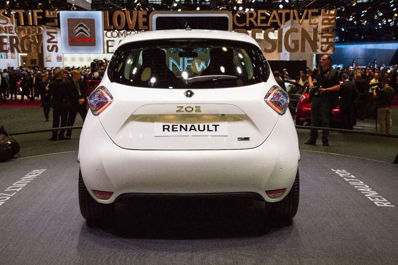 Renault released a longer-range version of its Zoe EVat the 2016 ParisMotor Show