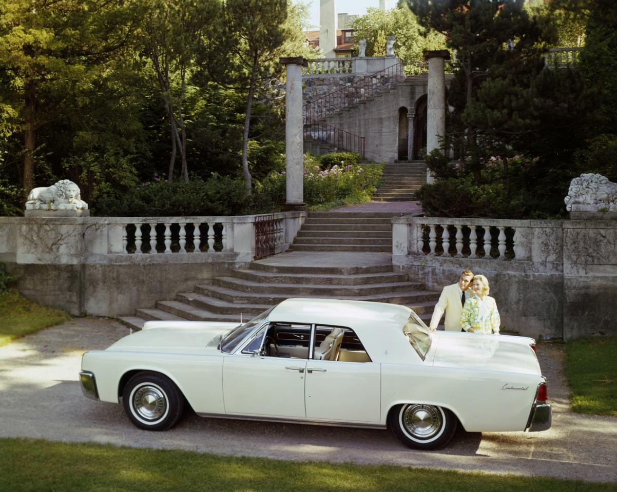 Suicide doors were a signature element of Lincoln luxury cars of the 1960s
