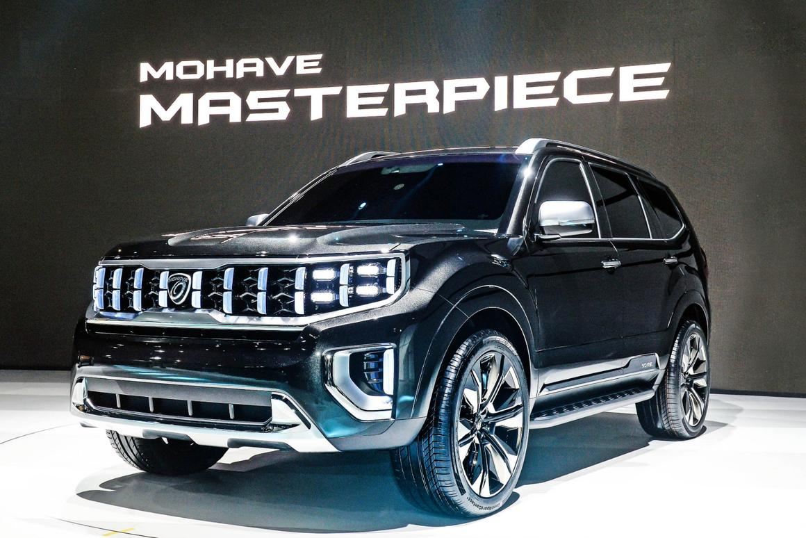 The Mohave Masterpiece is Kia's version of a big, tough but luxurious off-roader
